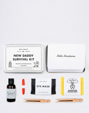 Men's Society - New Daddy Survival Kit