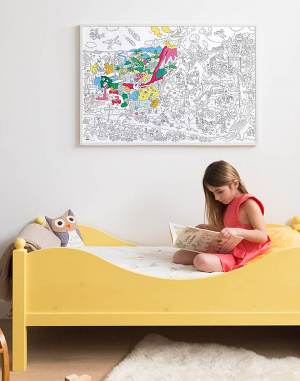 OMY - Giant Coloring Poster - Dinos
