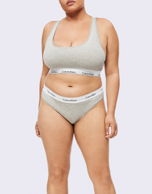 Calvin Klein - Unlined Bralette plus size