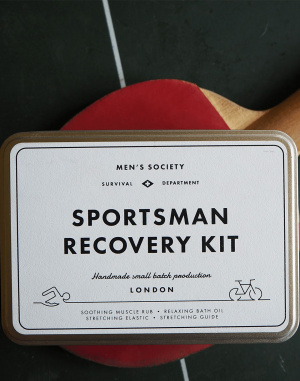 Men's Society - Sportsman Recovery Kit