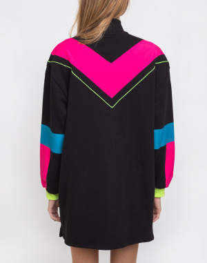 Dress Lazy Oaf Game Face Sweater Dress