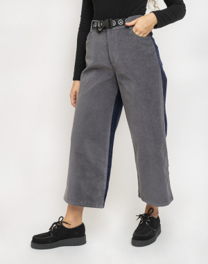Lazy Oaf - Two Halves Corduroy Pants