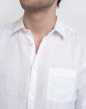 Shirt Knowledge Cotton Larch Long Sleeve Linen Shirt - Vegan