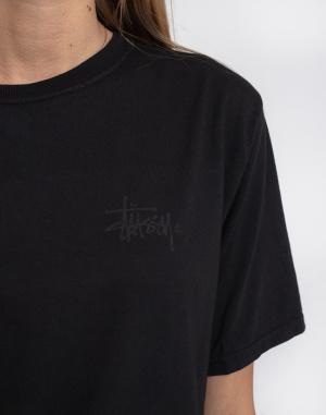 T-shirt Stüssy Basic Logo Pig. Dyed Tee