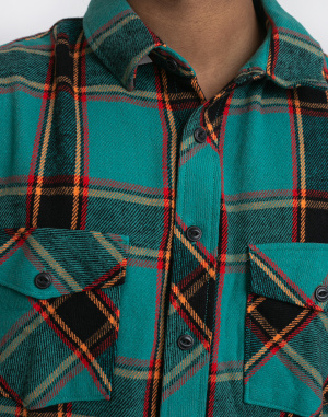 Stüssy - Ace Plaid LS Shirt