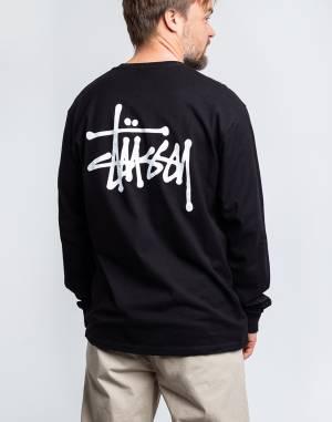 T-shirt Stüssy Basic Stüssy LS Tee