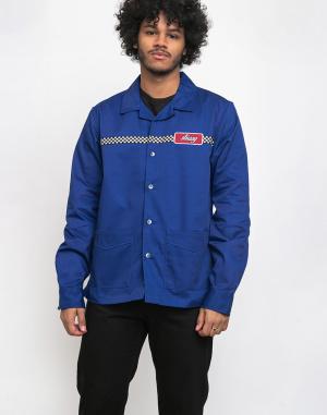 Stüssy - Checker Work LS Shirt