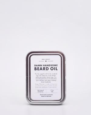 Men's Society - Damn Handsome Beard Oil and Face R...