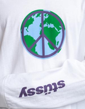 Stüssy - World Peace LS Tee