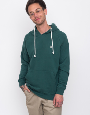 Knowledge Cotton - Hood Kangaroo Sweat with Owl Ba...