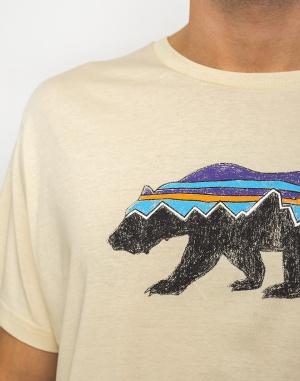 Patagonia - Fitz Roy Bear Organic T-Shirt