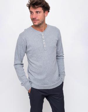 T-Shirt - Knowledge Cotton - Rib Henley