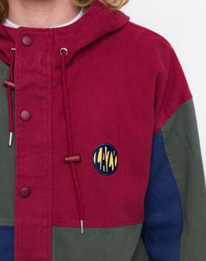 Lazy Oaf - Colour Panel Twill Jacket