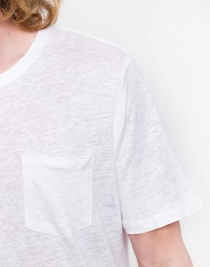 Knowledge Cotton - Single Jersey Linen T-shirt