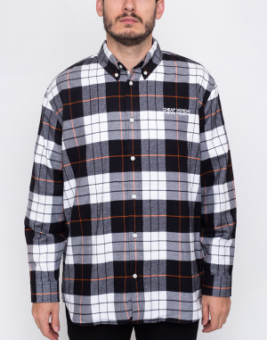 Cheap Monday - Clean conduct shirt Echologo emb