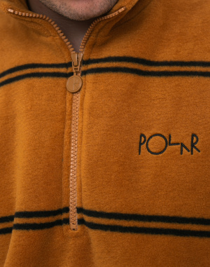 Polar Skate Co. - Striped Fleece Pullover 2.0
