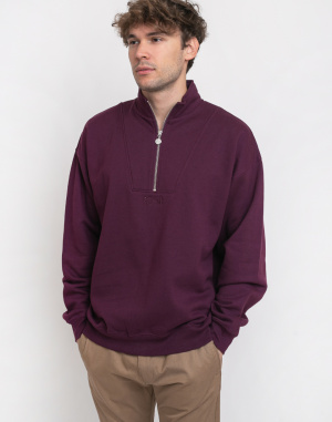 Polar Skate Co. - Zip Neck Sweatshirt