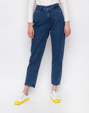 Lazy Oaf - Mid-Wash Mom Jeans