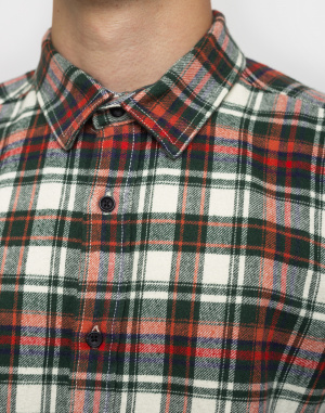 Knowledge Cotton - Checked Flannel Shirt