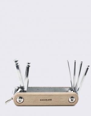 Kikkerland - Wooden Fixie Hex Set
