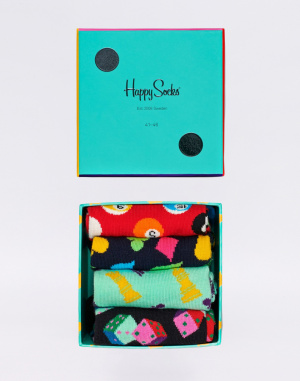 Socks Happy Socks Game Night Gift Box