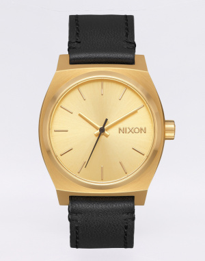 Watch - Nixon - Medium Time Teller Leather