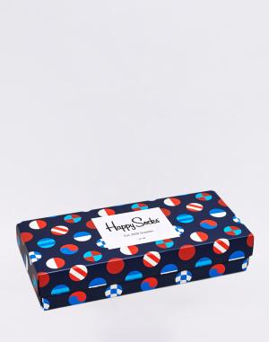 Happy Socks - Navy Gift Box