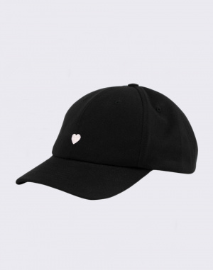 Dad cap - Rotholz - Heart Dad Cap