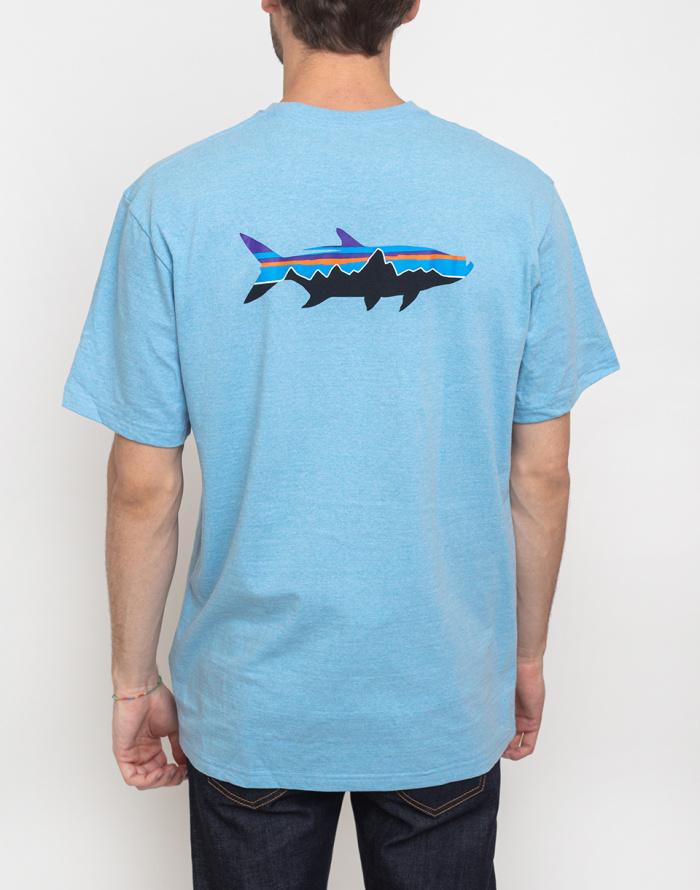 T-shirt Patagonia Fitz Roy Tarpon Responsibili-Tee