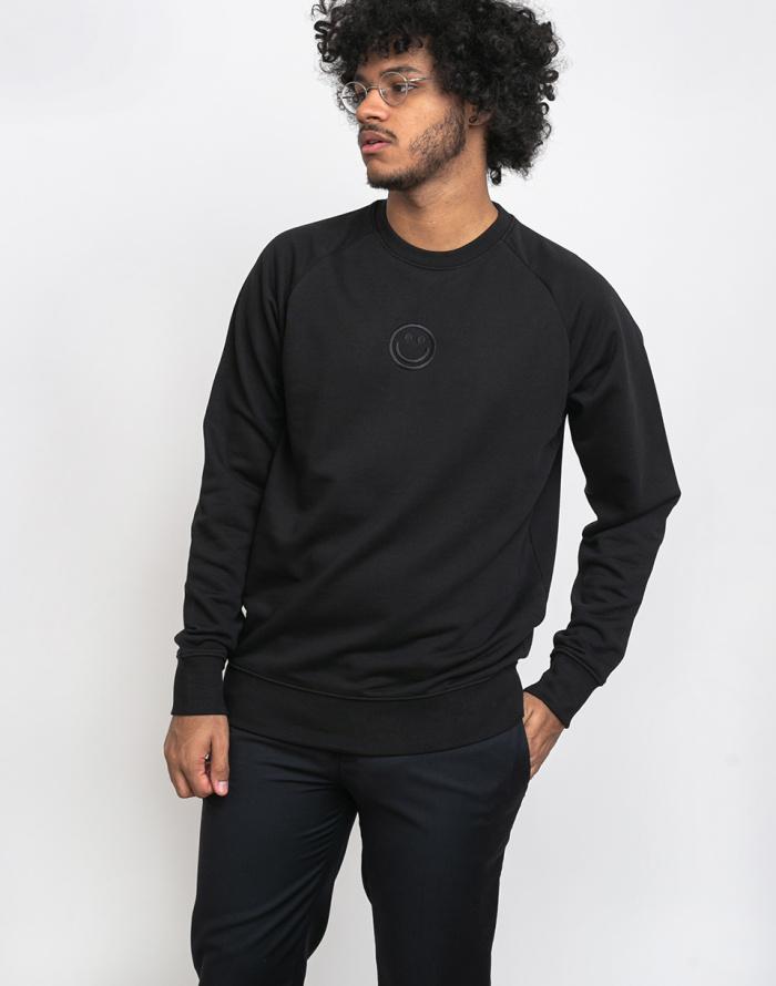 Sweatshirt - Rotholz - Smiley Sweater