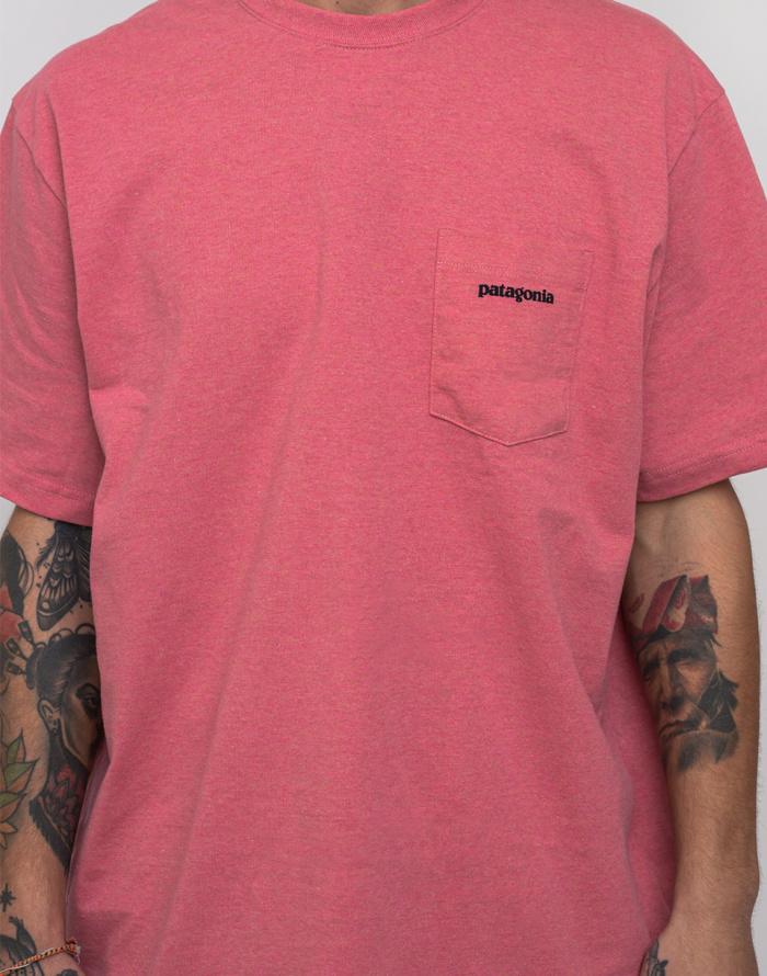 T-shirt Patagonia P-6 Logo Pocket Responsibili-Tee