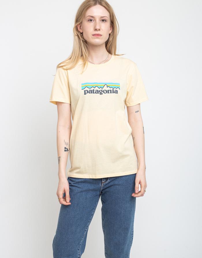 T-shirt Patagonia W's Pastel P-6 Logo Organic Crew T-Shirt