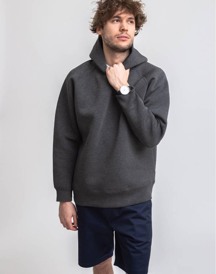 Sweatshirt M.C.Overalls Bonded Jersey Pullover Hoody
