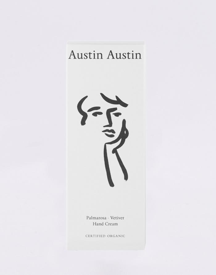Cosmetics Austin Austin Palmarosa & Vetiver Hand Cream