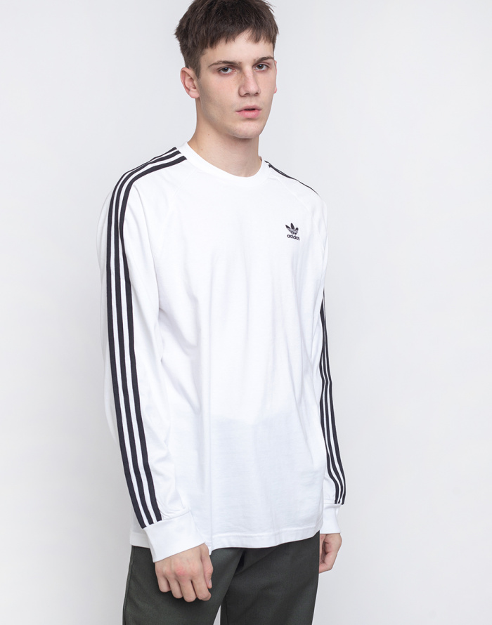 T-Shirt - adidas Originals - 3 Stripes LS Tee