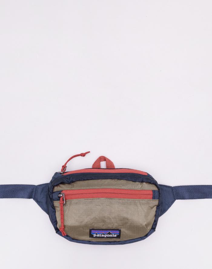 Classic Navy W//mojave Khaki Patagonia Lightweight Travel Mini Mens Bag Bumbag