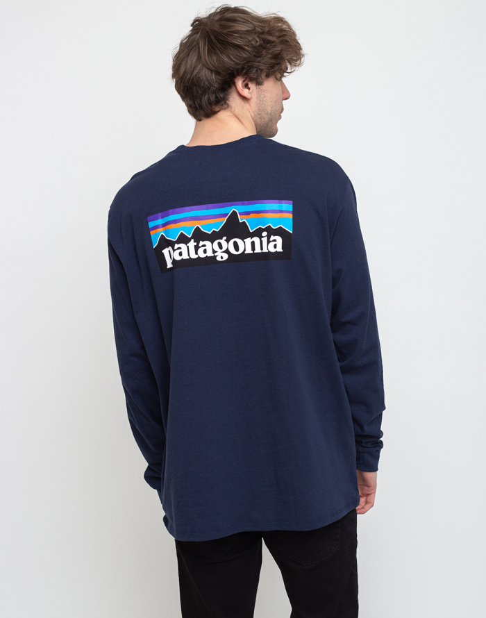 T-shirt Patagonia M's L/S P-6 Logo Responsibili-Tee