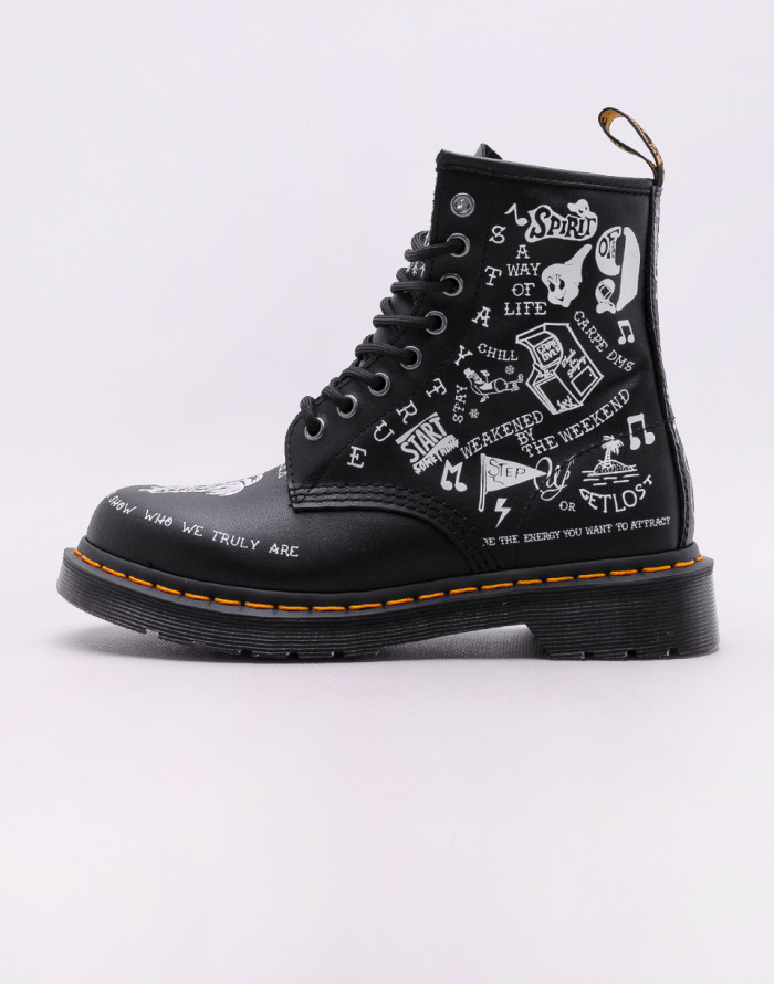 Shoe - Dr. Martens - 1460 Scribble