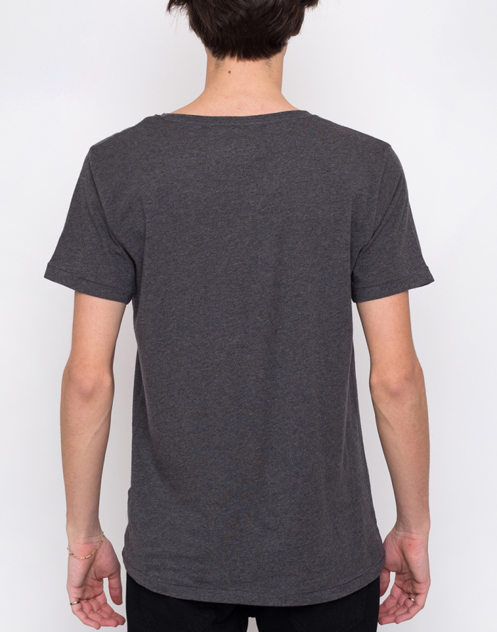 T-Shirt - Knowledge Cotton - Basic Regular Fit O-Neck Tee