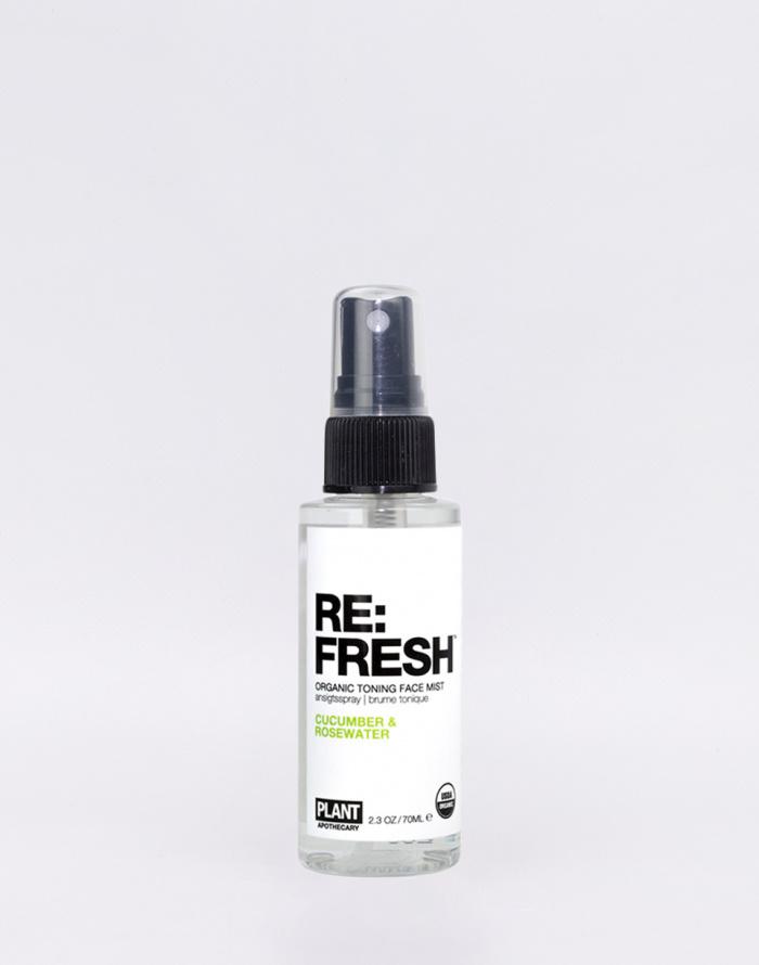 Cosmetics - Plant Apothecary - Re:Fresh Toning Spray 70 ml