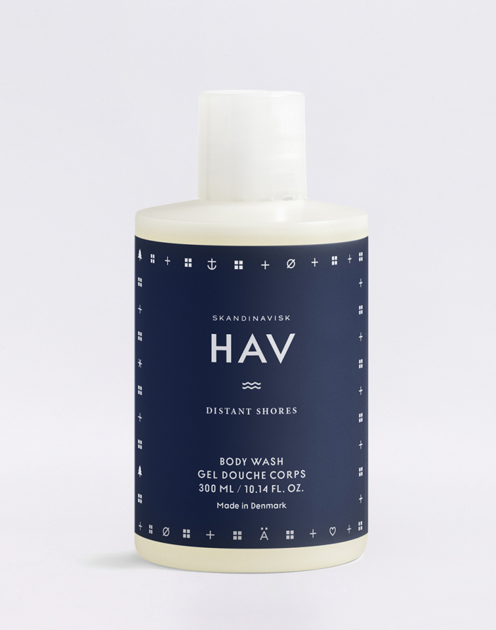 Cosmetics - Skandinavisk - Hav 300 ml Body Wash