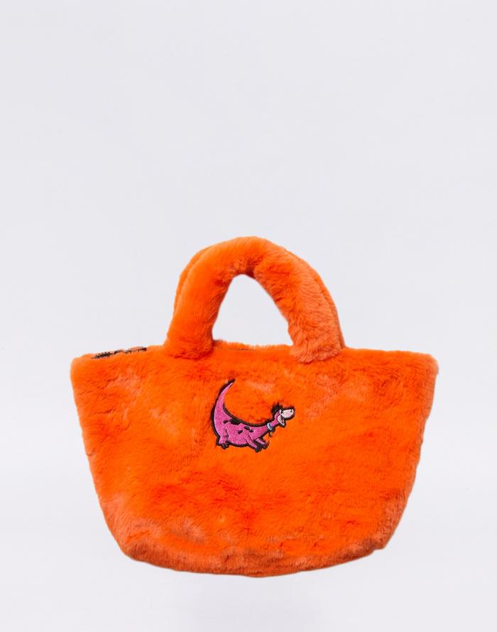 Handbag Lazy Oaf Flintstones Furry Dino Bag