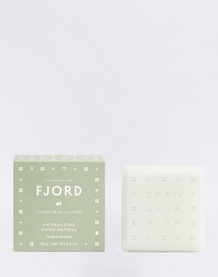 Cosmetics - Skandinavisk - Fjord 100 g Bar Soap