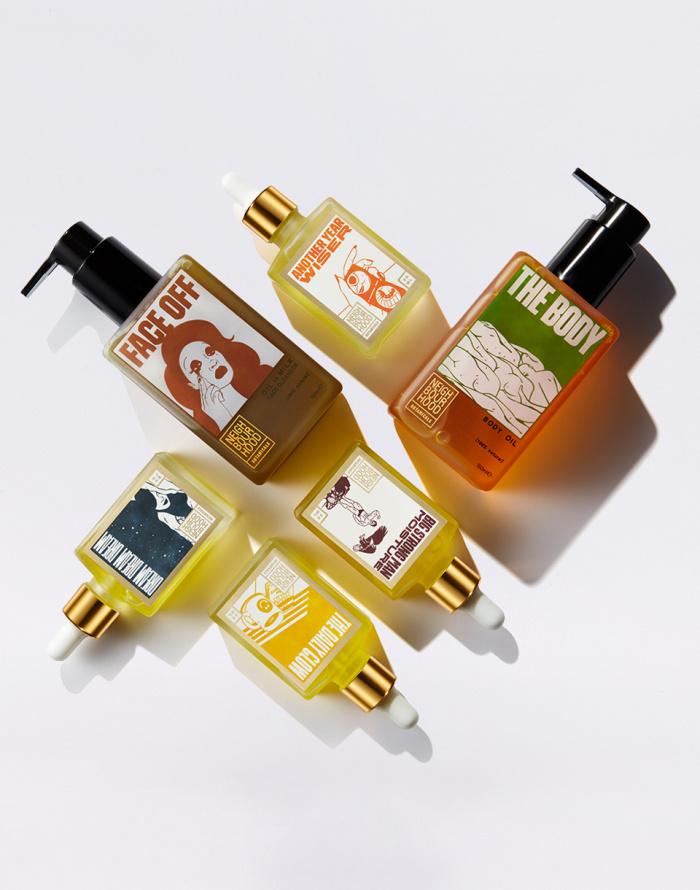 Cosmetics Neighbourhood Botanicals Dream Dream Dream Night Oil