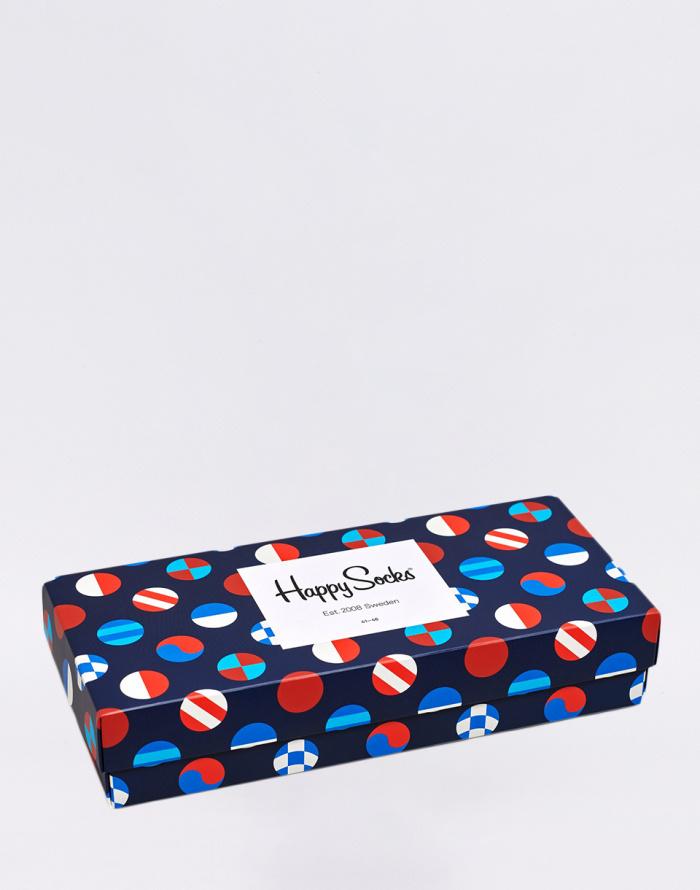 Socks - Happy Socks - Navy Gift Box